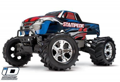 67054-1 | Traxxas 1/10 Stampede 4x4 Electric Off Road RC Truck