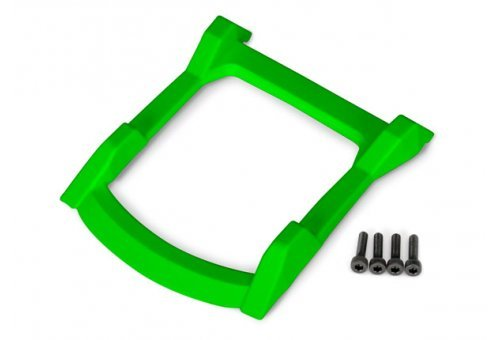 Traxxas Rustler 4x4 Body Roof Skid Plate w/ Screws (Green)