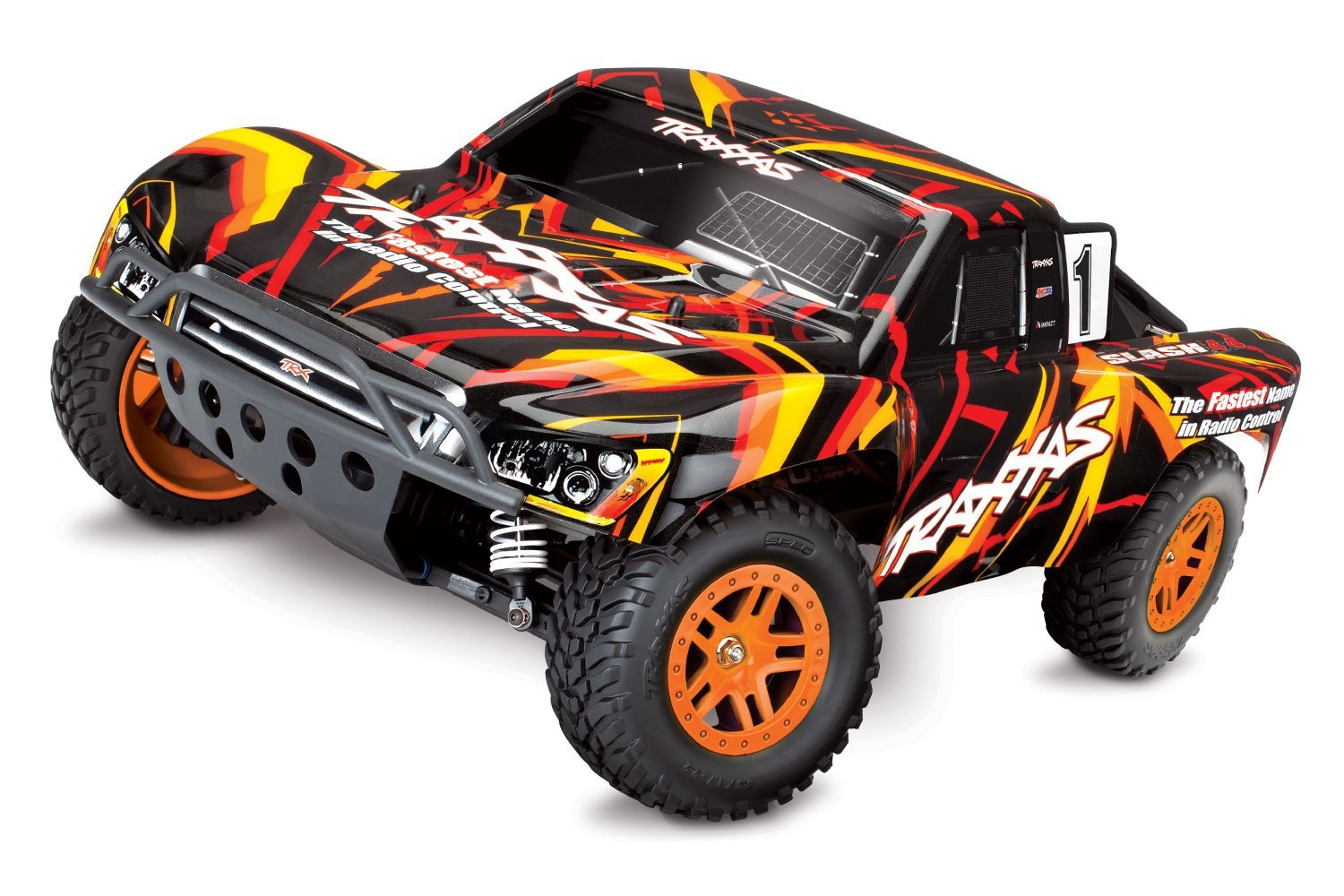 Traxxas 1/10 Slash 4x4 Electric Off Road Electric Brushed RC Short Course Truck