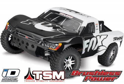 Traxxas 1/10 Slash 4x4 Electric Brushless RC SCT (No Battery)