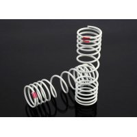 Traxxas Rear Progressive (Pink +10% Rate) Shock Springs 2Pcs