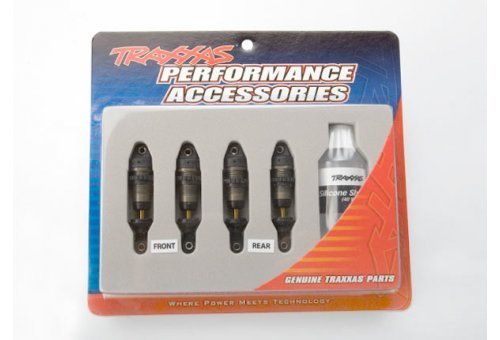 Traxxas 1/16 GTR Aluminium Body Shocks w/o Springs 2Pcs