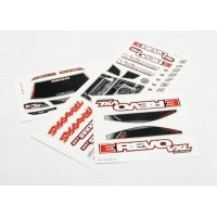 Traxxas 1/16 E-Revo VXL Decal Sheets