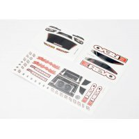 Traxxas 1/16 E-Revo Decal Sheets