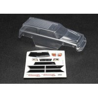 Traxxas 1/16 Summit Clear Unpainted Body Shell