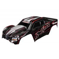 Traxxas 8S X-Maxx Complete Red Painted Body Shell w/ Front and Rear Roll Cage Mounts