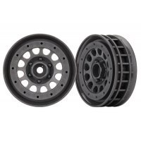 "Traxxas TRX-4 Method 105 1.9"" Charcoal Grey Rims 2Pcs"
