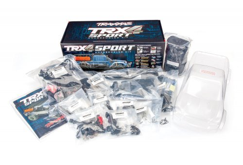 Traxxas 1/10 TRX-4 Sport Kit Electric Off-Road Rock Crawler