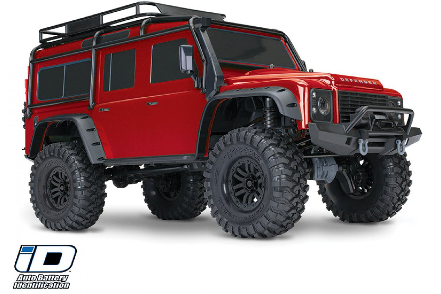 82056-4 | Traxxas 1/10 TRX-4 Defender Electric Off-Road Rock