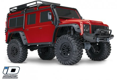 Traxxas 1/10 TRX-4 Defender Electric Off-Road Rock Crawler