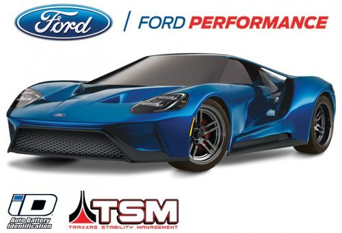 Traxxas 1/10 4-Tec 2.0 Ford GT Electric RC Car
