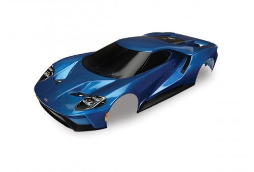 Traxxas 1/10 Blue Ford GT Painted Body Shell