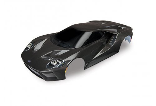 Traxxas 1/10 Grey Ford GT Painted Body Shell