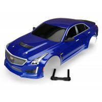 Traxxas 1/10 Blue Cadillac CTS-V Painted Body Shell