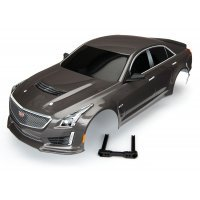 Traxxas 1/10 Silver Cadillac CTS-V Painted Body Shell