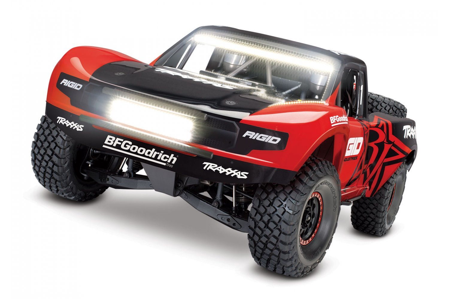 Traxxas 1/7 Unlimited Desert Racer Electric Brushless Off Road Short Course Truck w/ LED Light Kit