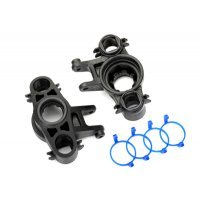 Traxxas E-Revo VXL 2.0 Left & Right Axle Carrier Set w/ Dust Boots Retainers