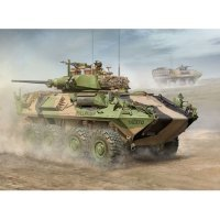 Trumpeter 1/35 Australian Light Armoured Vehicle (ASLAV-25) Scaled Plastic Model Kit