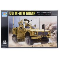 Trumpeter 1/16 U.S. M-ATV MRAP Scaled Plastic Model Kit