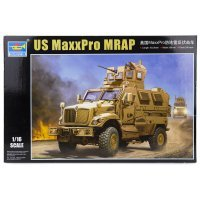 Trumpeter 1/16 U.S. MaxxPro MRAP Scaled Plastic Model Kit
