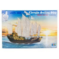 Trumpeter 1/72 Chinese Chengho Sailing Ship Plastic Model Kit
