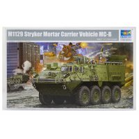 Trumpeter 1/35 M1129 Stryker Mortar Armoured Vehicle Scaled Plastic Model Kit