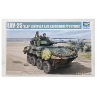 Trumpeter 1/35 LAV-25 SLEP Armoured Vehicle Scaled Plastic Model Kit