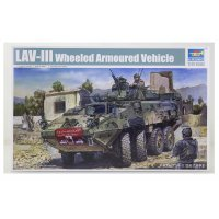 Trumpeter 1/35 LAV-III Armoured Vehicle Scaled Plastic Model Kit