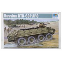 Trumpeter 1/35 Russian BTR-60P Upgraded Armoured Personnel Carrier Vehicle Scaled Plastic Model Kit