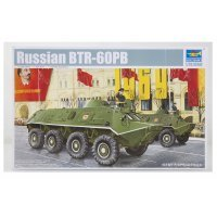 Trumpeter 1/35 Russian BTR-60PB Armoured Personnel Carrier Scaled Plastic Model Kit