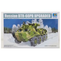 Trumpeter 1/35 Russian BTR-60PB Upgraded Armoured Personnel Carrier Vehicle Scaled Plastic Model Kit