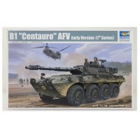 Trumpeter 1/35 B1 Centauro AFV (Early Version) Armoured Car Scaled Plastic Model Kit