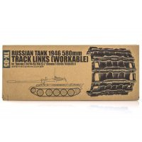 Trumpeter 1/35 Russian 1946 580mm Plastic Workable Tank Tracks Link Kit