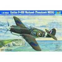Trumpeter 1/32 Curtiss P-40B Warhawk Tomahawk Mk. II A Fighter Scaled Plastic Model Kit