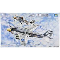 Trumpeter 1/32 A-6A Intruder Jet Scaled Plastic Model Kit