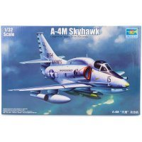Trumpeter 1/32 A-4M Skyhawk Jet Scaled Plastic Model Kit