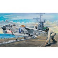 Trumpeter 1/32 F-8E Crusader Jet Scaled Plastic Model Kit