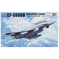 Trumpeter 1/32 EF-2000B Typhoon Eurofighter Jet Scaled Plastic Model Kit