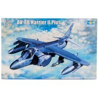 Trumpeter 1/32 AV-8B Harrier II Plus Jet Scaled Plastic Model Kit