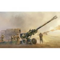 Trumpeter 1/35 M198 155mm Medium Towed Howitzer Scaled Plastic Model Kit