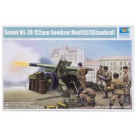Trumpeter 1/35 Soviet ML-20 152mm Howitzer M1937 (Standard) Scaled Plastic Model Kit