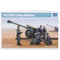 Trumpeter 1/35 122MM Howitzer PLA PL96 Scaled Plastic Model Kit