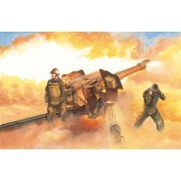 Trumpeter 1/35 Soviet D-74 122mm Field Gun Scaled Plastic Model Kit