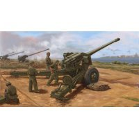 Trumpeter 1/35 PLA Type 59 130 Towed Field Gun Scaled Plastic Model Kit