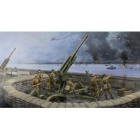 Trumpeter 1/35 Soviet M1942 52-K 85mm Air Defense Gun (Late Version) Scaled Plastic Model Kit