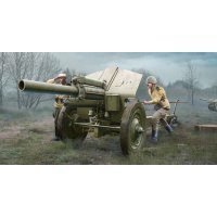 Trumpeter 1/35 Soviet 1938 122mm Howitzer M-30 (Late Version) Scaled Plastic Model Kit