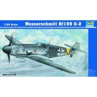 Trumpeter 1/24 Messerschmitt Bf109 G-2 Fighter Bomber Scaled Plastic Model Kit