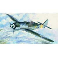 Trumpeter 1/24 Focke-wulf Fw 190 D-2 Fighter Scaled Plastic Model Kit