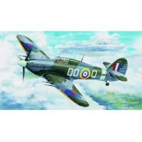 Trumpeter 1/24 Hurricane Mk.II C Fighter Scaled Plastic Model Kit