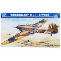 Trumpeter 1/24 Hurricane Mk.II D/Trop Fighter Scaled Plastic Model Kit